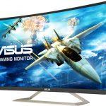 ASUS、144Hz駆動31.5型フルHDの曲面液晶ディスプレイ「VA326H」を発売