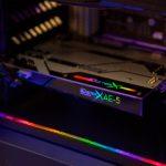 ハイレゾ音源対応のゲーミングサウンドカード「Sound BlasterX AE-5」発売