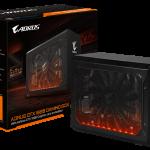 GIGABYTE、GTX 1080搭載GPUボックス「AORUS GTX 1080 Gaming Box」を発表