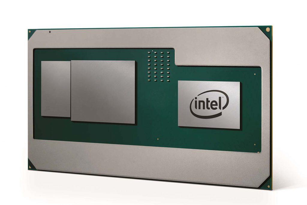 高性能CPUとAMDのカスタムディスクリートグラフィックスを組み合わせた新しいインテル「Core」プロセッサ
