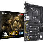 GIGA-BYTE、マイニング向けATXマザーボード「GA-B250-FinTech」を発売