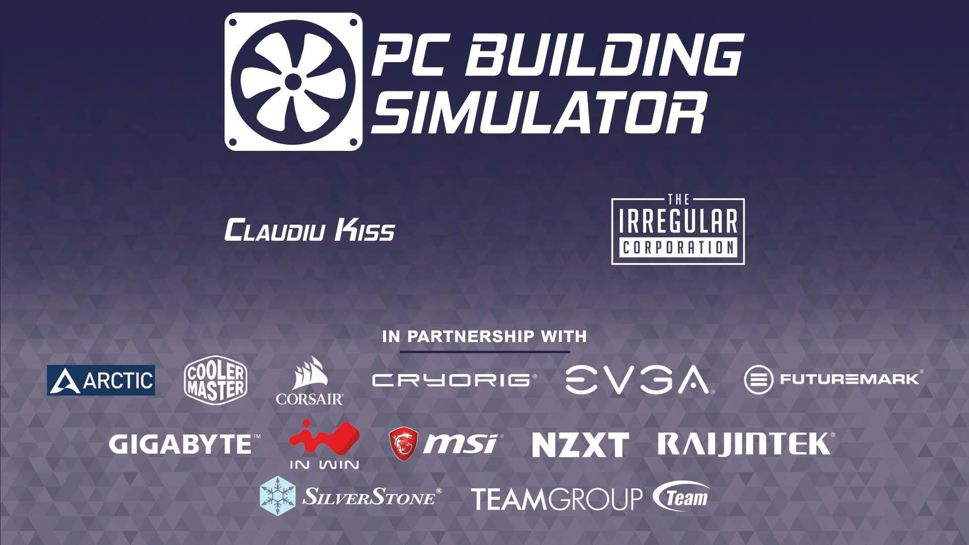 PC Building Simulator パートナーシップメーカー