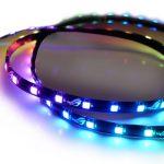 ASUS、Aura SyncのシンクロLEDイルミネーションを拡張できる「ROG Addressable LED Strip」を発売