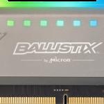 カスタマイズが可能なRGB LED搭載メモリ「Ballistix Tactical Tracer RGB DDR4」を発売