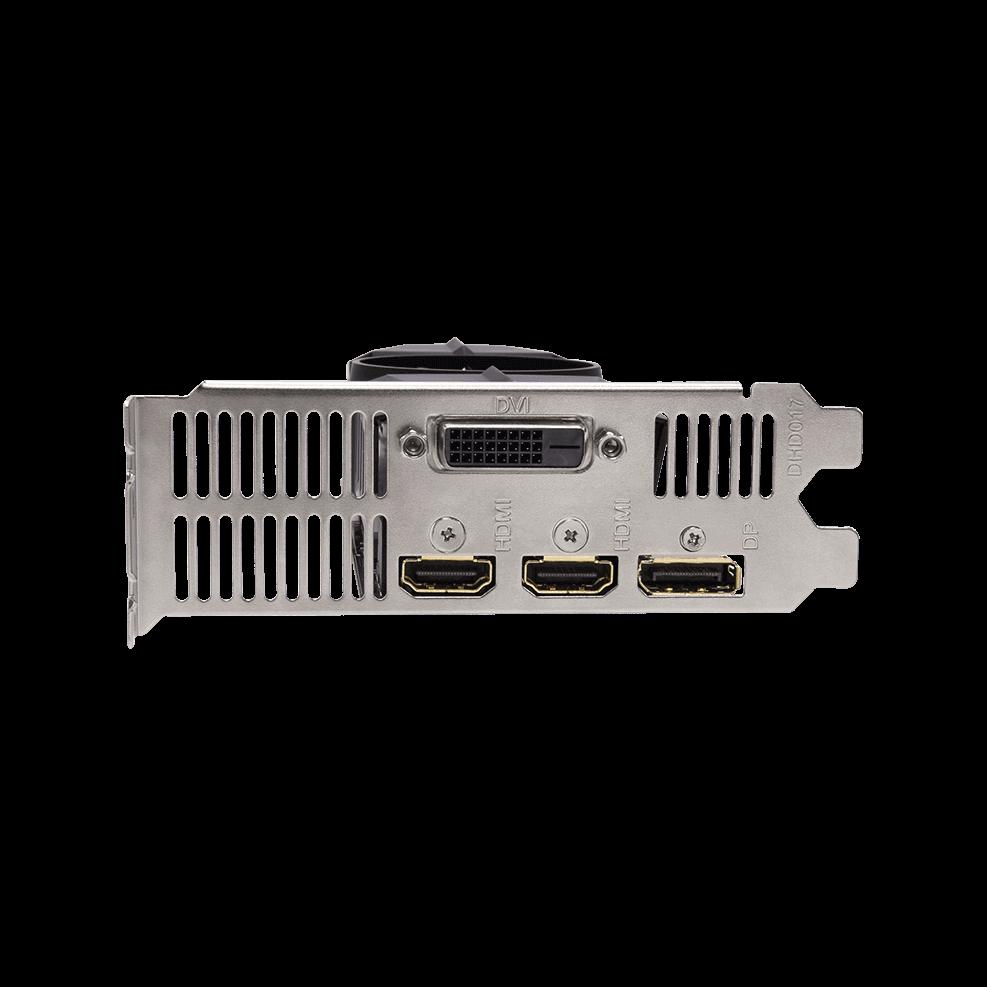GV-N1050OC-3GL Port