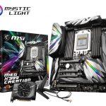 MSI、クリエイター向けマザーボード「MEG X399 CREATION」を発売