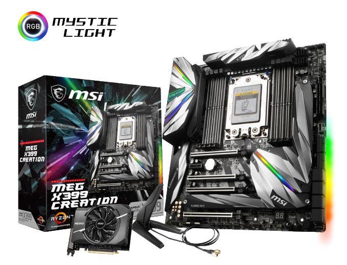 MEG X399 CREATION