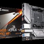 GIGABYTE、Mini-ITXマザーボード「B450 I AORUS PRO WIFI」を発売