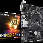 GIGABYTE、コスパに優れたH310チップセット搭載マザーボードを発売