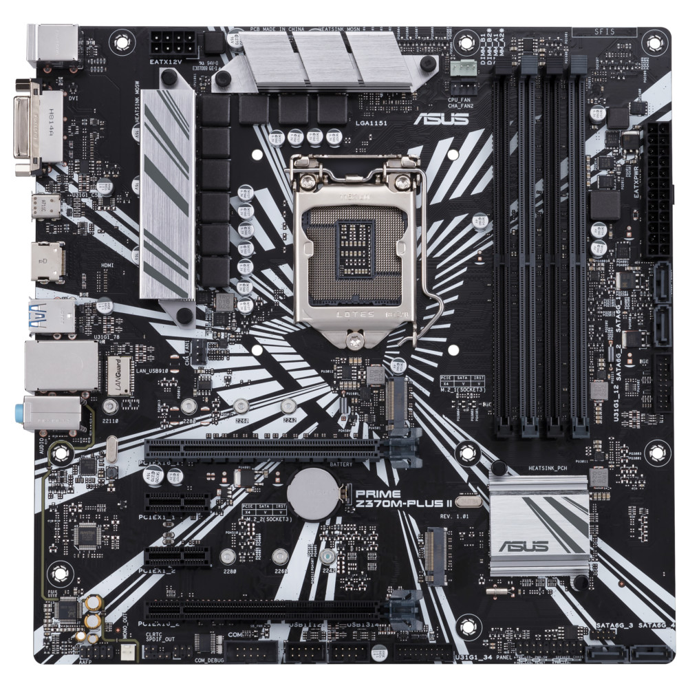 PRIME Z370M-PLUS II Board