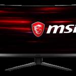 MSI、曲率1500Rの湾曲型ゲーミングモニター「Optix MAG241C」などを発売