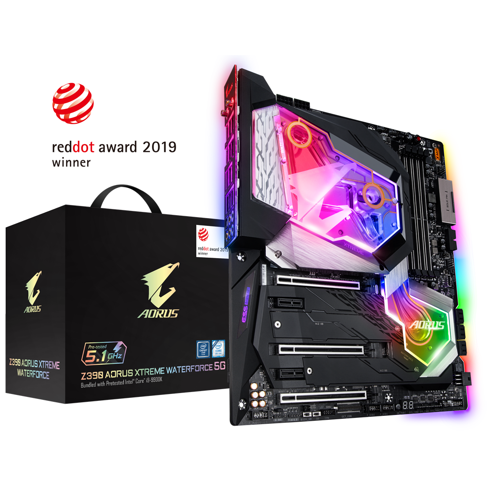 GIGABYTE Z390 AORUS XTREME WATERFORCE 5G