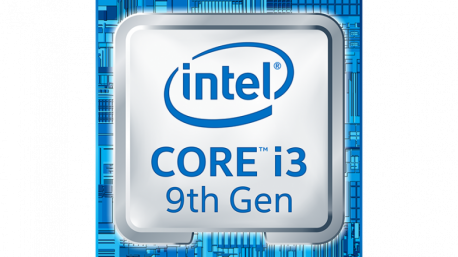 Intel Core i3 9th Logo