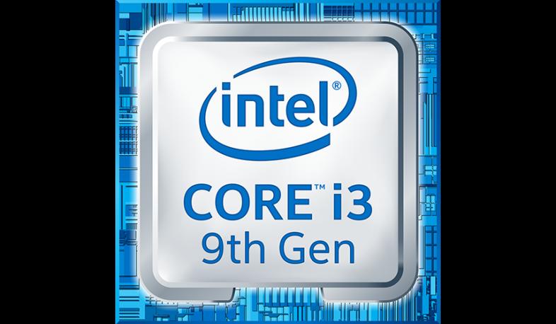 Intel Core i3 9th Logo