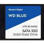 Western Digital、「WD Blue 3D NAND SATA SSD」に大容量4TBモデルを追加