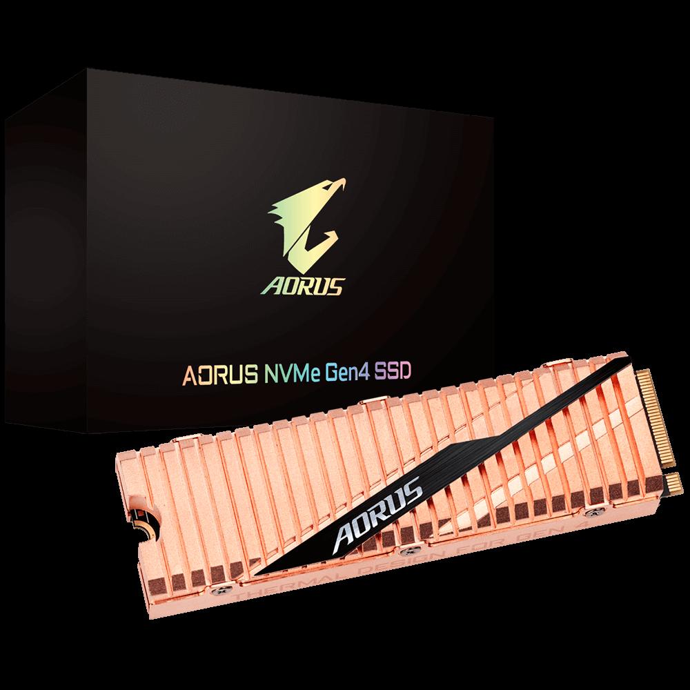 AORUS NVMe Gen4 SSD 500GB Package