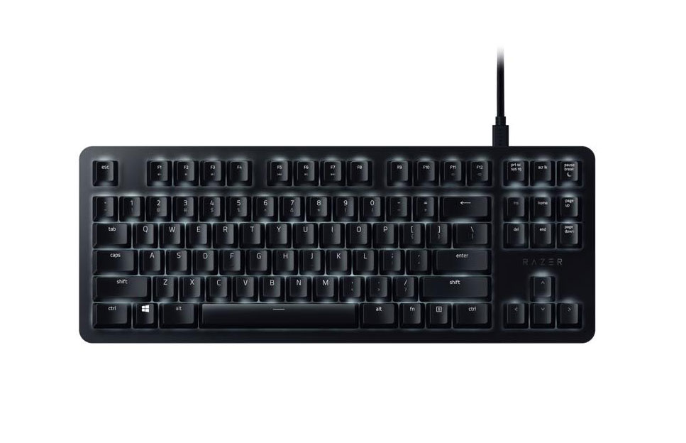 Razer BlackWidow Lite Top View