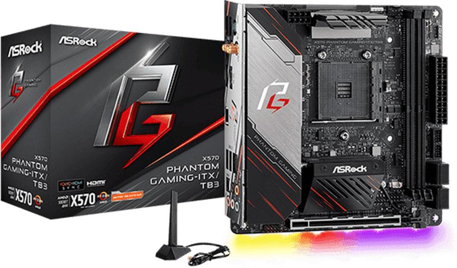 X570 Phantom Gaming-ITX/TB3