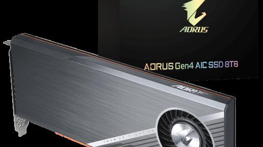 AORUS Gen4 AIC SSD 8TB