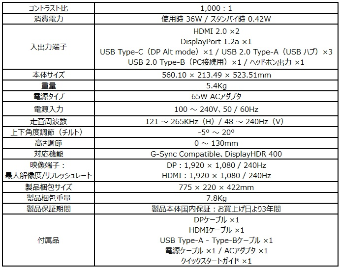 Optix MAG251RX