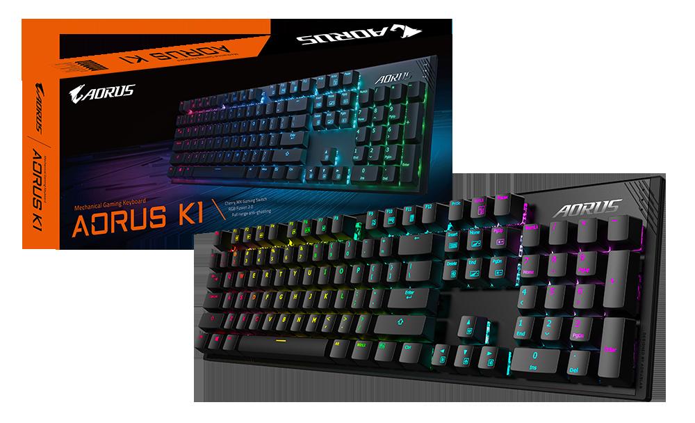 AORUS K1 Package