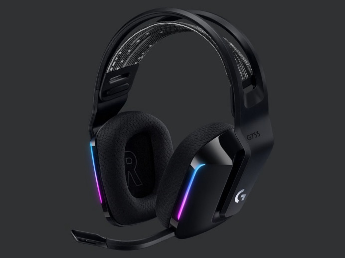 G733 LIGHTSPEEDワイヤレスRGBゲーミングヘッドセット