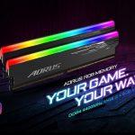 GIGABYTE、XMP対応メモリ「AORUS RGB Memory 4400MHz」を発売