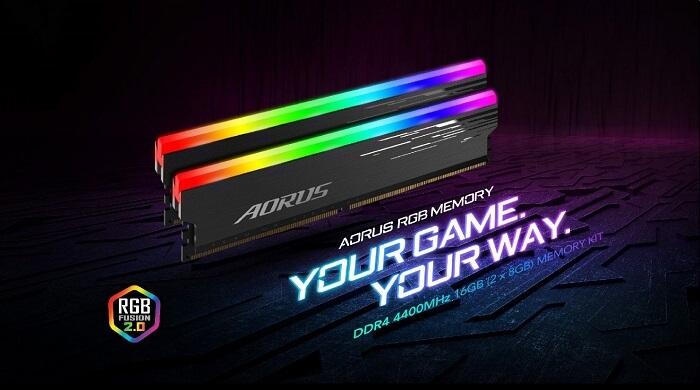 AORUS RGB Memory 4400MHz