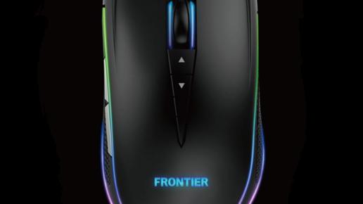 FRONTIER ゲーミングマウス GM-S1B
