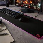 超ワイドでLED搭載のマウスパッド「MP-GL01BK」がエレコムより発売
