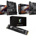 GIGABYTE、AMD B550採用のマザーボード2製品とPCIe Gen4 SSDを発売