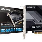 GIGABYTE、 Thunderbolt 4拡張カード「GC-MAPLE RIDGE」を5月28日より発売