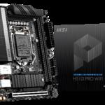 MSI、H510チップセットを搭載したマザーボード「H510I PRO WIFI」を発売