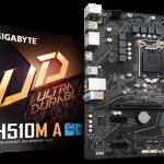 GIGABYTE、Intel H510チップセット採用のMicroATXマザーボード「H510M A」を発売